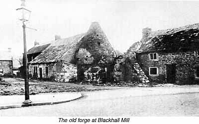 The old forge at Blackhall Mill