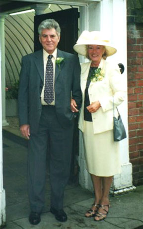 Joe and Mary Dyer wedding 2000